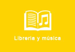 Librería y música
